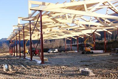 Pilares metálicos para estructura mixta