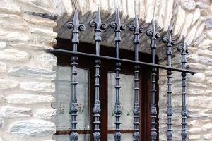 Rejas en forja industrial para ventana