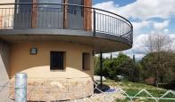 Barandilla metálica de exterior para vivienda unifamiliar